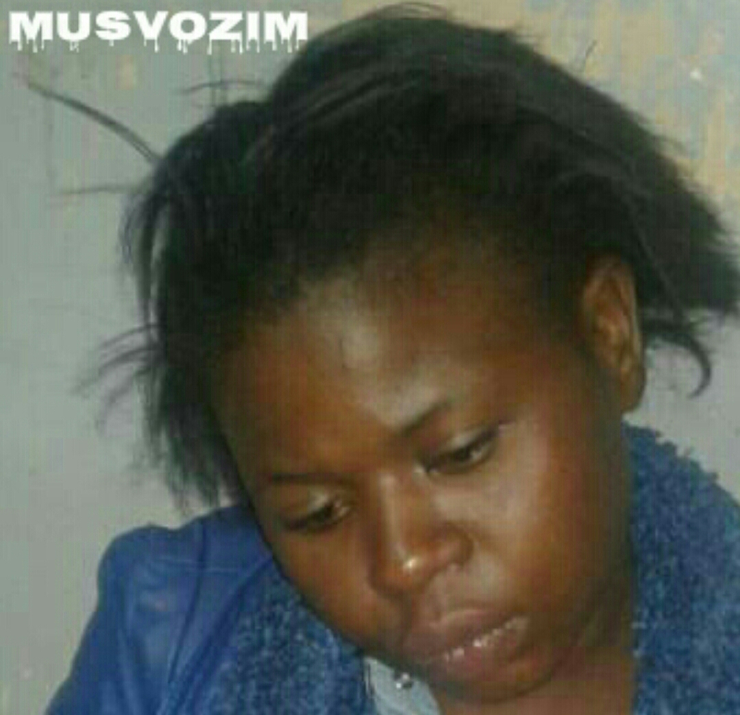 Video : The woman Chipo Mpofu (24) who did musvo in front